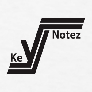 KeyNotez Brand Logo Accessories - Men's T-Shirt