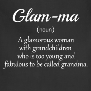 Glamma Noun Definition 1  Women's T-Shirts - Adjustable Apron
