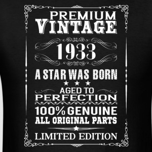 PREMIUM VINTAGE 1933 Hoodies - Men's T-Shirt