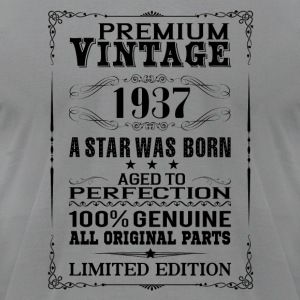 PREMIUM VINTAGE 1937 Long Sleeve Shirts - Men's T-Shirt by American Apparel