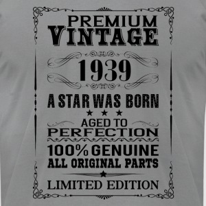 PREMIUM VINTAGE 1939 Long Sleeve Shirts - Men's T-Shirt by American Apparel