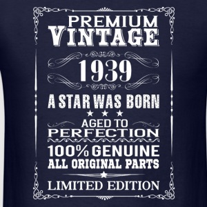 PREMIUM VINTAGE 1939 Long Sleeve Shirts - Men's T-Shirt