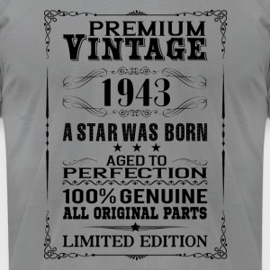 PREMIUM VINTAGE 1943 Long Sleeve Shirts - Men's T-Shirt by American Apparel