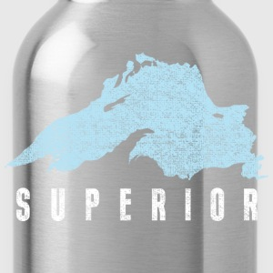Lake Superior Great Lakes Hoodies - Water Bottle