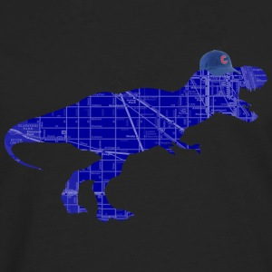 Cubs Tyrannosaurus Rex  Women's T-Shirts - Men's Premium Long Sleeve T-Shirt
