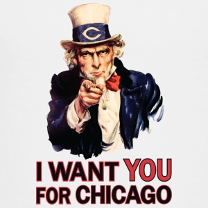 Want You For Chicago USA Uncle Sam Kids' Shirts - Toddler Premium T-Shirt