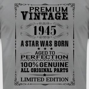 PREMIUM VINTAGE 1945 Long Sleeve Shirts - Men's T-Shirt by American Apparel