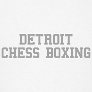 Detroit Chess Boxing Long Sleeve Shirts - Men's T-Shirt