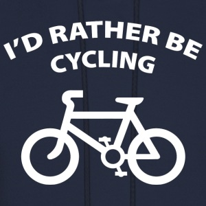 I'd Rather Be Cycling - Men's Hoodie