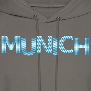 Munich bavarian flag Premium T-Shirt - Men's Hoodie