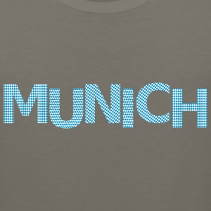 Munich bavarian flag Premium T-Shirt - Men's Premium Tank