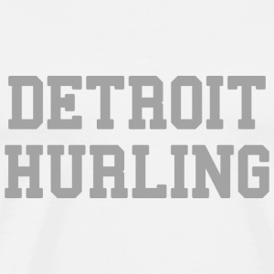 Detroit Hurling Long Sleeve Shirts - Men's Premium T-Shirt