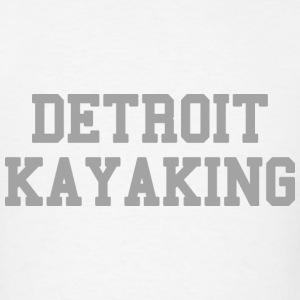 Detroit Kayaking Long Sleeve Shirts - Men's T-Shirt