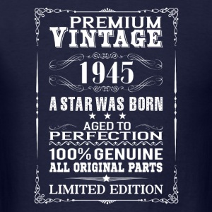 PREMIUM VINTAGE 1945 Long Sleeve Shirts - Men's T-Shirt
