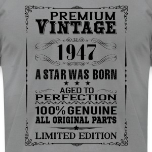 PREMIUM VINTAGE 1947 Long Sleeve Shirts - Men's T-Shirt by American Apparel