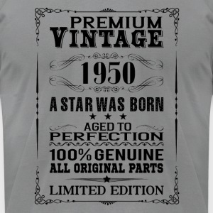PREMIUM VINTAGE 1950 Long Sleeve Shirts - Men's T-Shirt by American Apparel