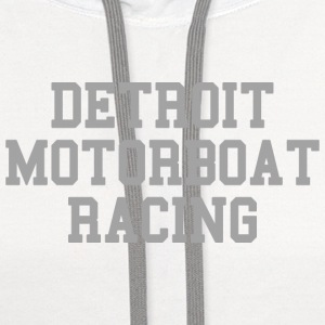 Detroit Motorboat Racing  Baby & Toddler Shirts - Contrast Hoodie