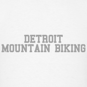 Detroit Mountain Biking Long Sleeve Shirts - Men's T-Shirt
