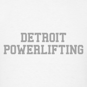 Detroit Power lifting  Long Sleeve Shirts - Men's T-Shirt