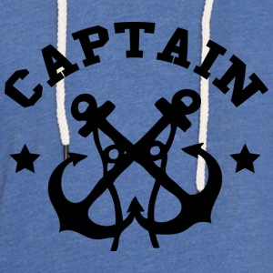 Captain - Unisex Lightweight Terry Hoodie