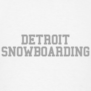 Detroit Snowboarding Hoodies - Men's T-Shirt