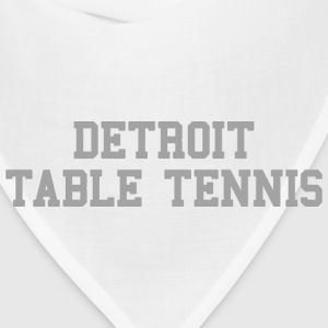 Detroit Table Tennis Baby & Toddler Shirts - Bandana
