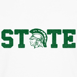 Spartan State Love  Kids' Shirts - Men's Premium Long Sleeve T-Shirt