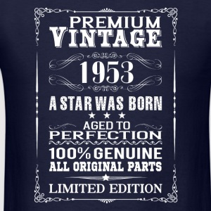 PREMIUM VINTAGE 1953 Long Sleeve Shirts - Men's T-Shirt