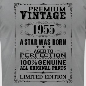 PREMIUM VINTAGE 1955 Long Sleeve Shirts - Men's T-Shirt by American Apparel
