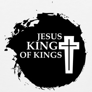 Jesus King Of Kings T-Shirts - Men's Premium Tank