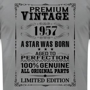 PREMIUM VINTAGE 1957 Long Sleeve Shirts - Men's T-Shirt by American Apparel