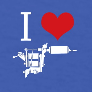 Tattoos I love inks Tattoo Artist T-shirt Mugs & Drinkware - Men's T-Shirt