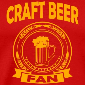 Craftbeer fan Tank Tops - Men's Premium T-Shirt