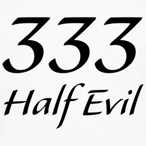 333 Half Evil - Men's Premium Long Sleeve T-Shirt