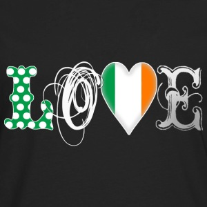 Love Ireland White Women's T-Shirts - Men's Premium Long Sleeve T-Shirt