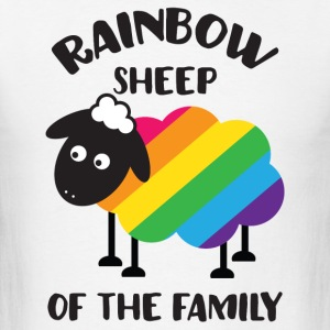 Rainbow Sheep Of The Family LGBT Pride Tank Tops - Men's T-Shirt