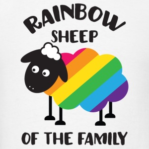 Rainbow Sheep Of The Family LGBT Pride Hoodies - Men's T-Shirt