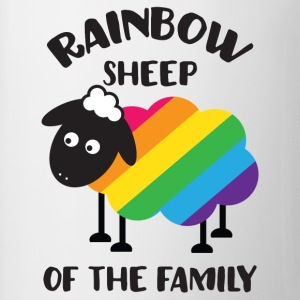 Rainbow Sheep Of The Family LGBT Pride T-Shirts - Coffee/Tea Mug