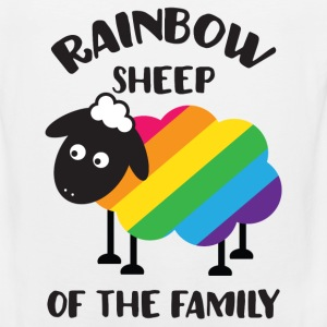Rainbow Sheep Of The Family LGBT Pride Women's T-Shirts - Men's Premium Tank