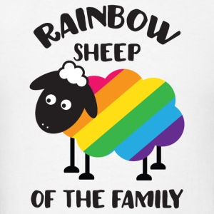 Rainbow Sheep Of The Family LGBT Pride Tanks - Men's T-Shirt