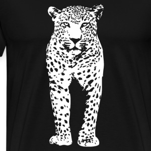 Leopard Long Sleeve Shirts - Men's Premium T-Shirt