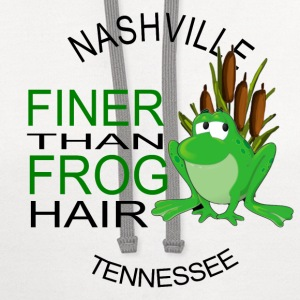 Nashville Finer Frog Hair Kids' Shirts - Contrast Hoodie