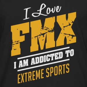 I Love FMX Extreme Sport T-shirt - Men's Premium Long Sleeve T-Shirt