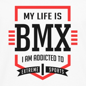 My Life Is BMX Extreme Sport - Men's Premium Long Sleeve T-Shirt
