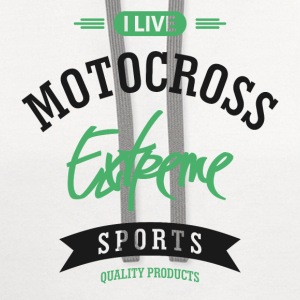 Motocross Extreme Sport T-shirt - Contrast Hoodie
