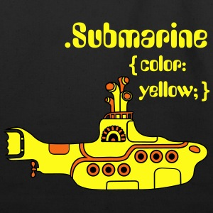 Yellow Submarine in CSS Kids' Shirts - Eco-Friendly Cotton Tote