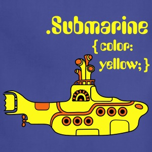 Yellow Submarine in CSS Kids' Shirts - Adjustable Apron