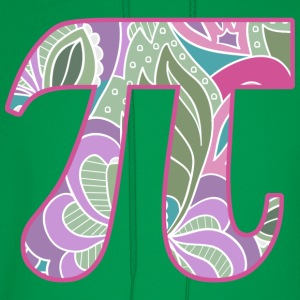 Girly Pi  - Men's Hoodie