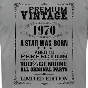 PREMIUM VINTAGE 1970 Long Sleeve Shirts - Men's T-Shirt by American Apparel