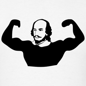 Muscle Shakespeare Tank Tops - Men's T-Shirt
